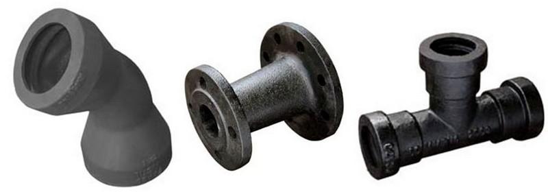 Conexões de Ferro para Saneamento
