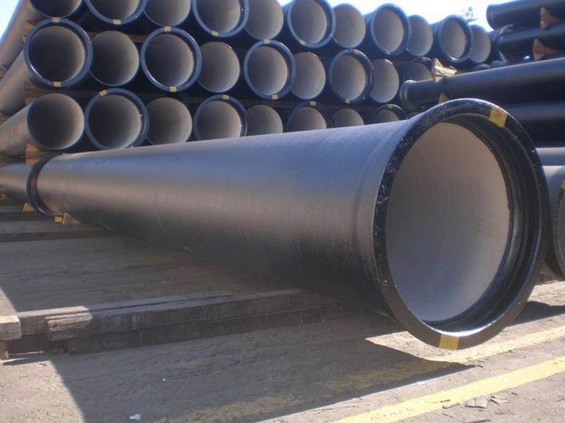 Tubo de ferro fundido para linha pluvial