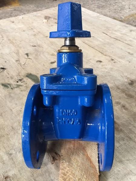 Válvula gaveta ferro fundido flangeada